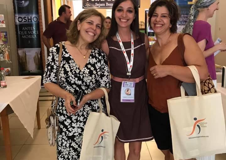 O Workshop para Idosos participou da 18. Feira do Livro de Águas de SãoPedro